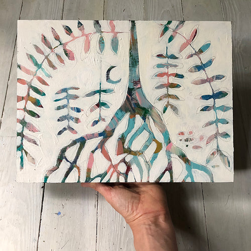Roots and Wings by Kat Ryalls, original painting