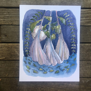 "Kat Ryalls ""Blue Bayou Solstice""giclée print on archival fine art paper signed and numbered"