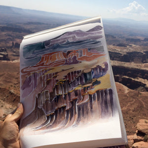 Canyonlands National Park Watercolor Print