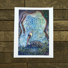 Load image into Gallery viewer, New orleans Pelican Dream giclée print on archival fine art paper signed and numbered Kat Ryalls