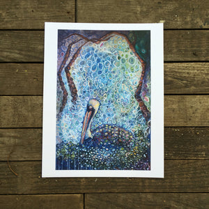 New orleans Pelican Dream giclée print on archival fine art paper signed and numbered Kat Ryalls