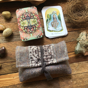 Oracle Card Bag | wool and cotton