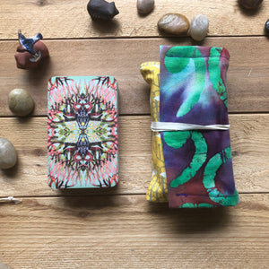 Oracle Card Bag | multi bright