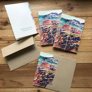 Canyonlands set of 4 blank note cards