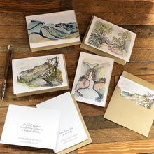 Load image into Gallery viewer, Linville Gorge set of 4 blank note cards