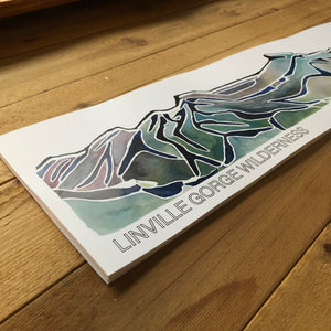 Linville Gorge Panoramic Poster print