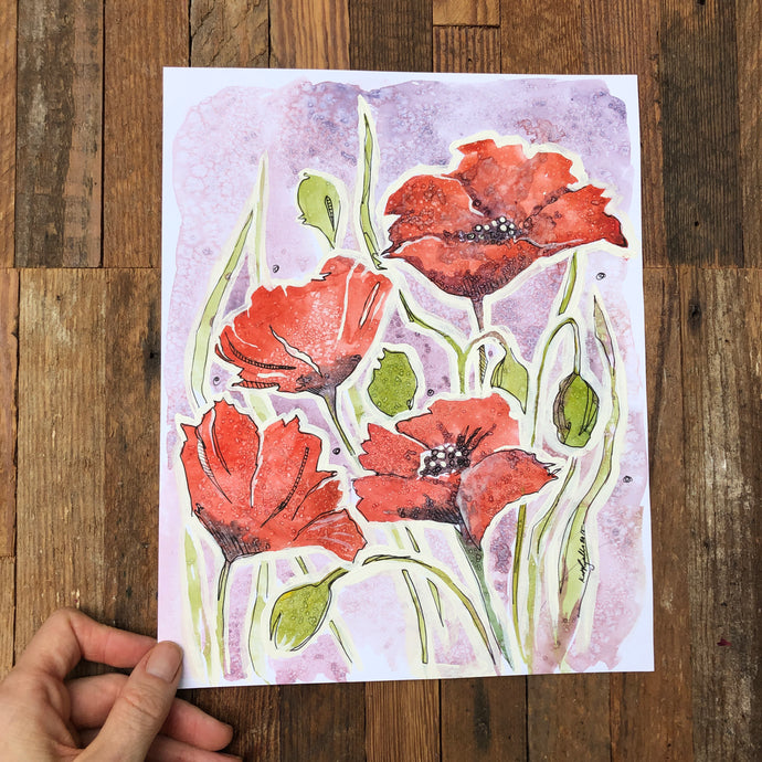 Poppies original