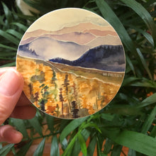 Load image into Gallery viewer, Blueridge in fall Mountain Vinyl Sticker