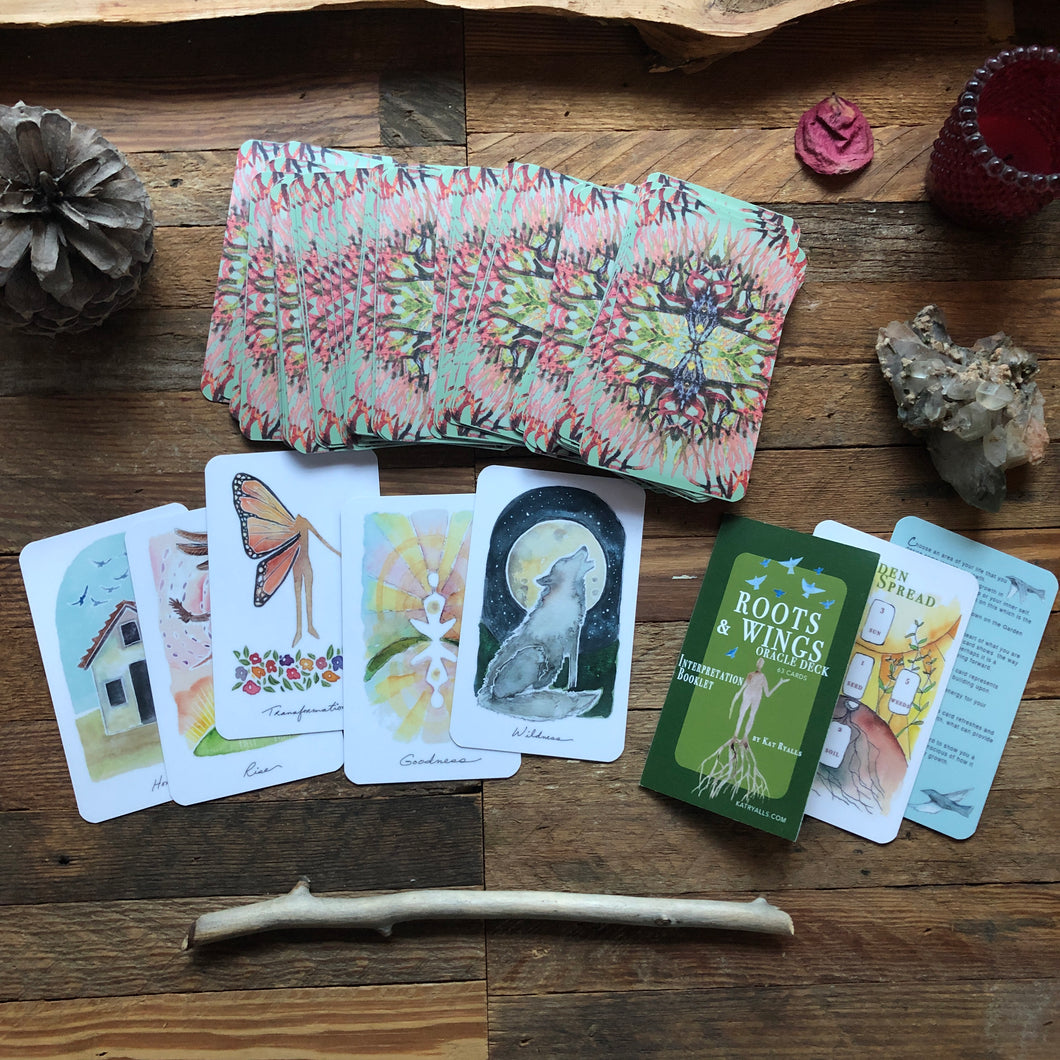 Roots and Wings Oracle Deck * read description for the details!