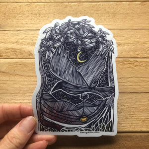 Midnight Flight sticker 5""