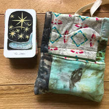 Load image into Gallery viewer, Star | Oracle Card Bag | hand dyed fabric