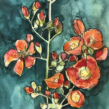 Load image into Gallery viewer, Desert Globemallow watercolor print