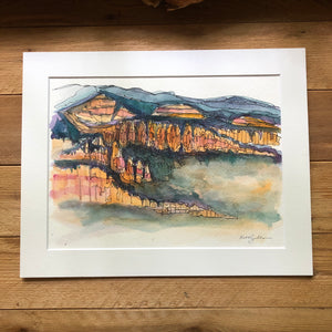 Bryce Canyon original watercolor