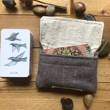 Load image into Gallery viewer, Oracle Card Bag | wool and cotton