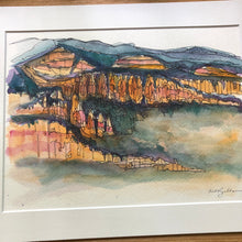 Load image into Gallery viewer, Bryce Canyon original watercolor
