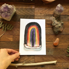 Load image into Gallery viewer, Passage, rainbow canoe print