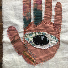 Load image into Gallery viewer, Protected Hand stitched Fiber Art Kat Ryalls