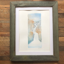 Load image into Gallery viewer, Waterfall Watercolor Ghost Strokes by Kat Ryalls