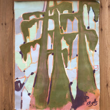 Load image into Gallery viewer, Spring Bayou Wallhanging Painting by Kat Ryalls
