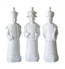 Yangtze Porcelain Figures {Set of 3}