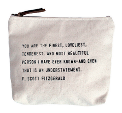 Canvas Quote Bags