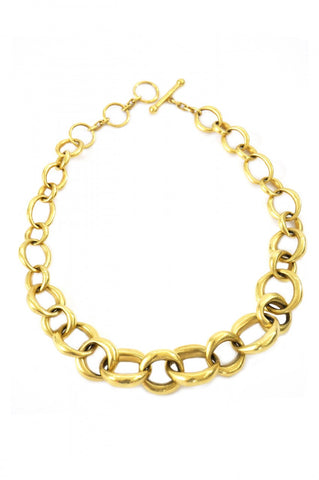 Cleo Oval Links Necklace