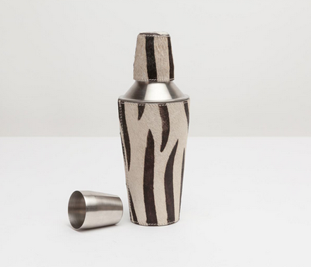 Browmley Zebra Cocktail Shaker