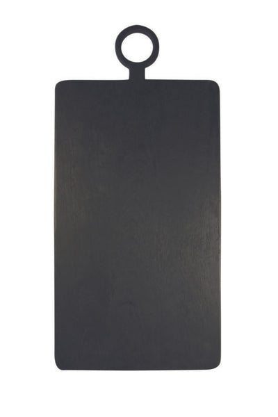 Black Mango Wood Rectangular Board