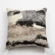 Heritage Abstract Wool Pillow, Large