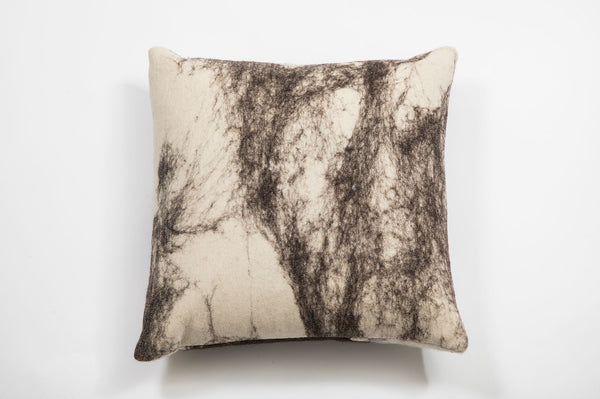 Heritage Abstract Wool Pillow, Medium