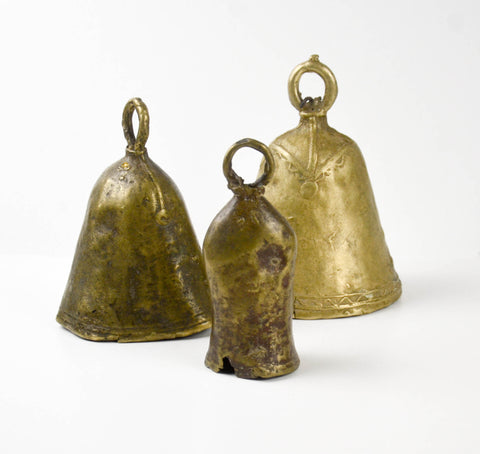 Brass Cow Bell from Sudan