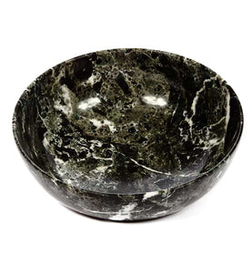 Black Zebra Marble Bowl