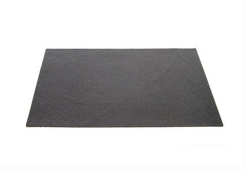 Black Leather Placemat
