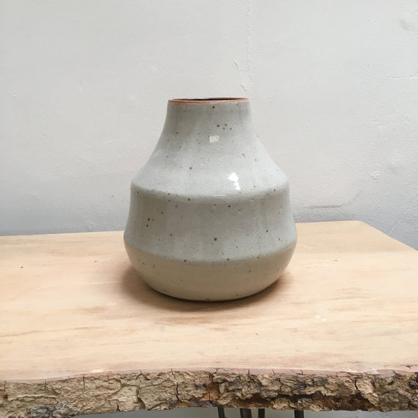 Drop Vessel Shino Glaze
