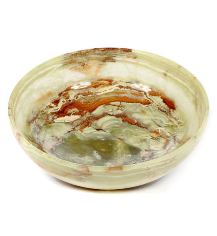 Green Onyx Marble Bowl