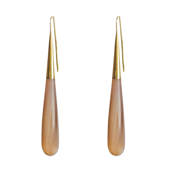 Pia Horn Threader Earrings