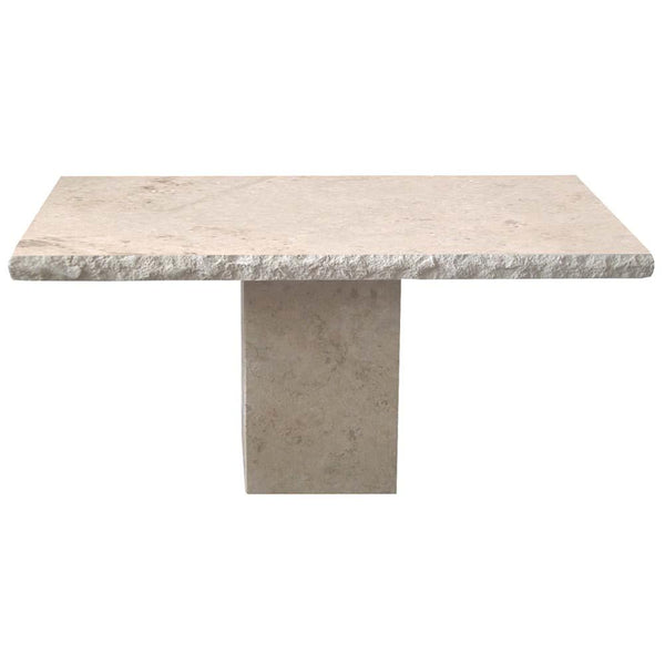 Travertine Console