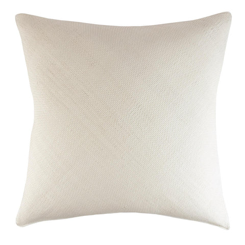 Royal Bohemian Woven Leather Pillow