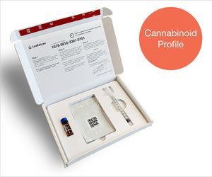 Leafalyze Cannabinoid Profile Test Kit