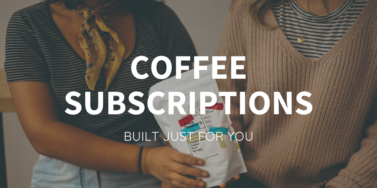 CoffEe Subscription Service Graphics