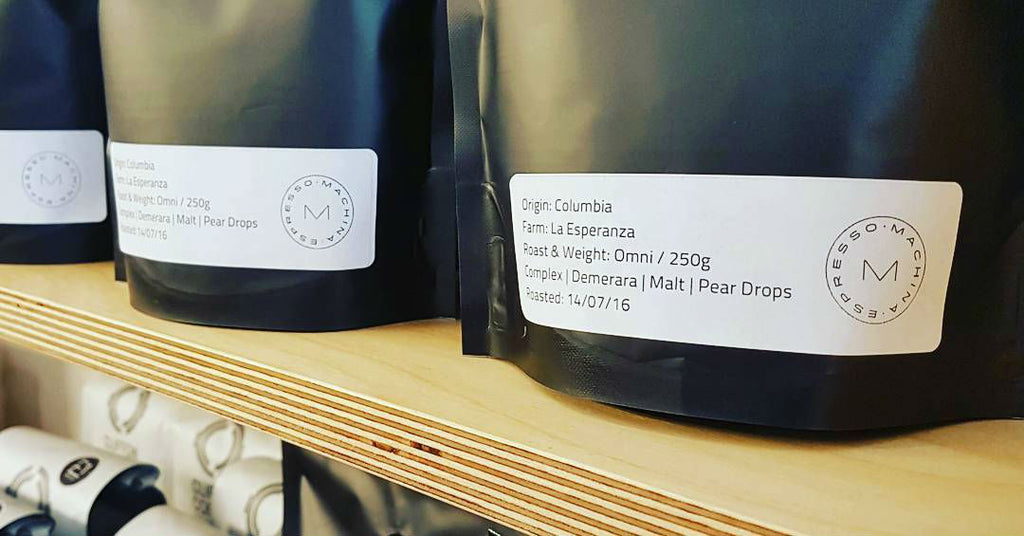 The first Machina roastery retail coffee