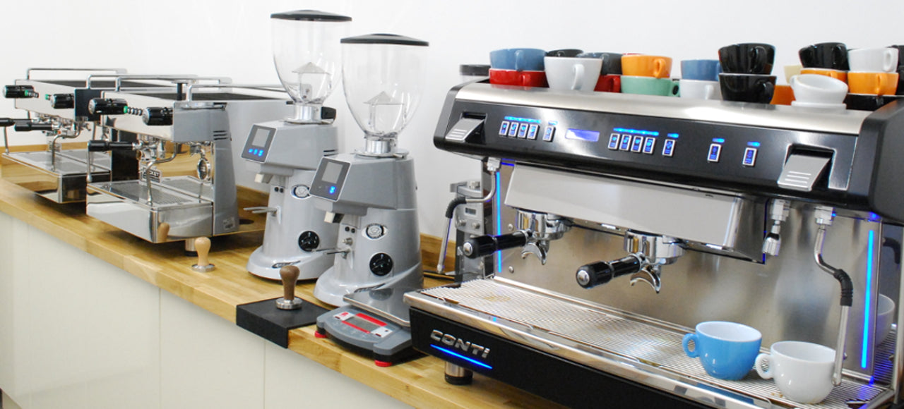 Machina Espresso Edinburgh showroom