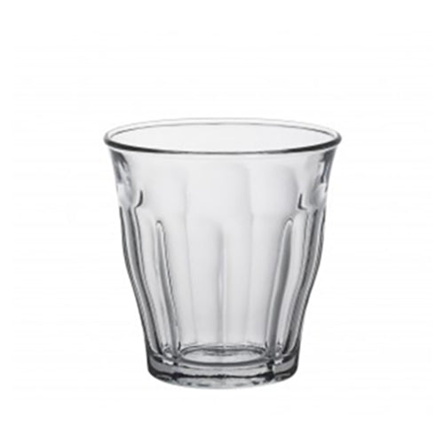 Duralex - Picardie - Flat White Glass - 160ml / 5.75oz x 6