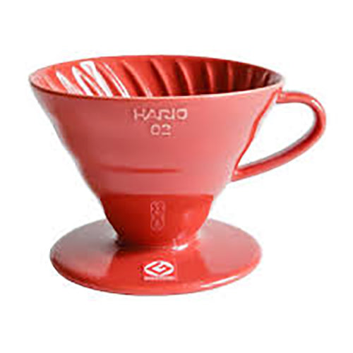 Hario - V60 - Ceramic Red (Size 02)
