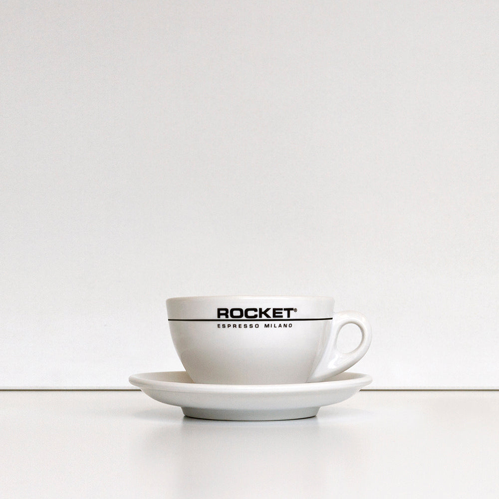 Rocket - Branded Cappuccino Cups & Saucers - 7oz (Box of 6)