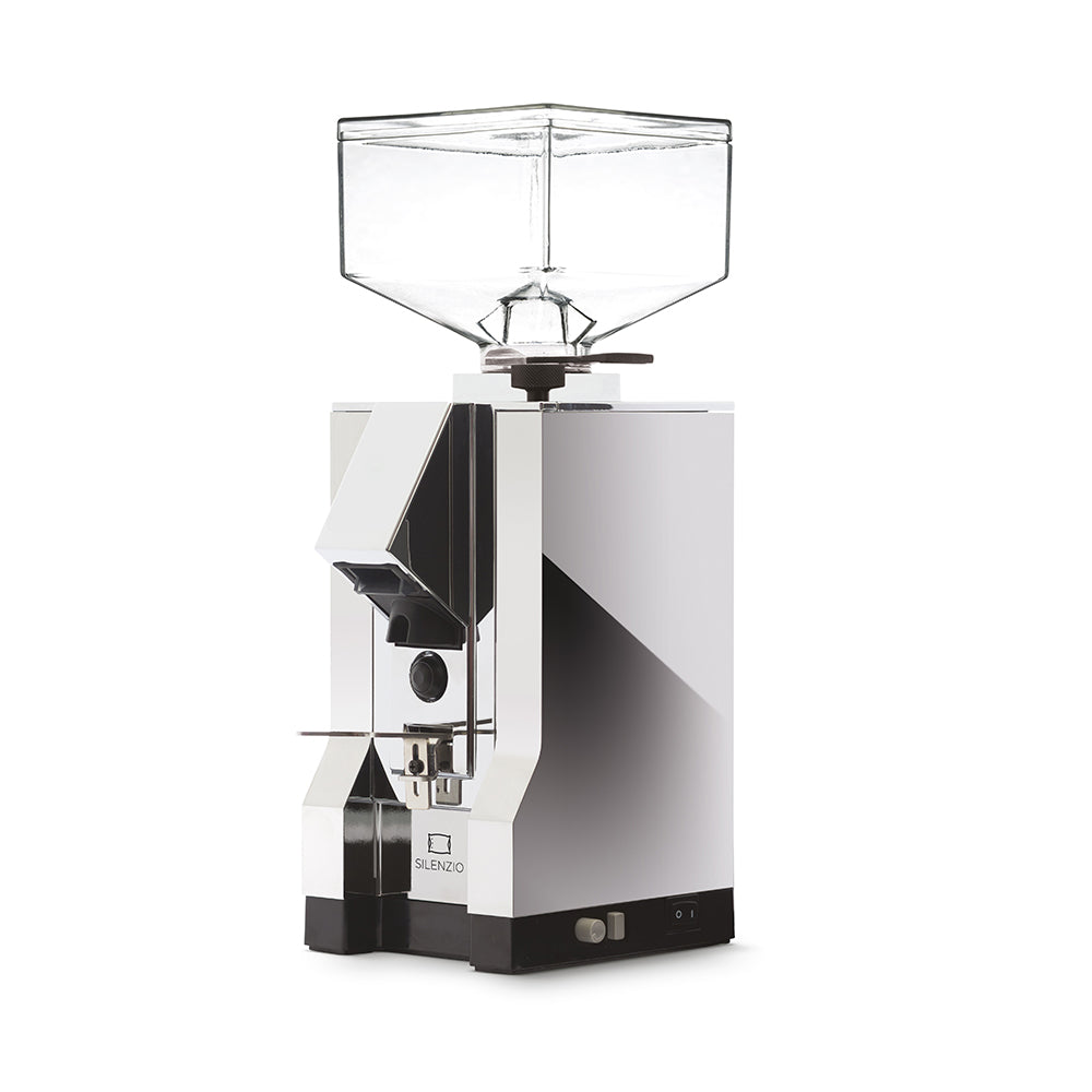 Eureka Mignon Silenzio Chrome Coffee Grinder (Chrome Panel)