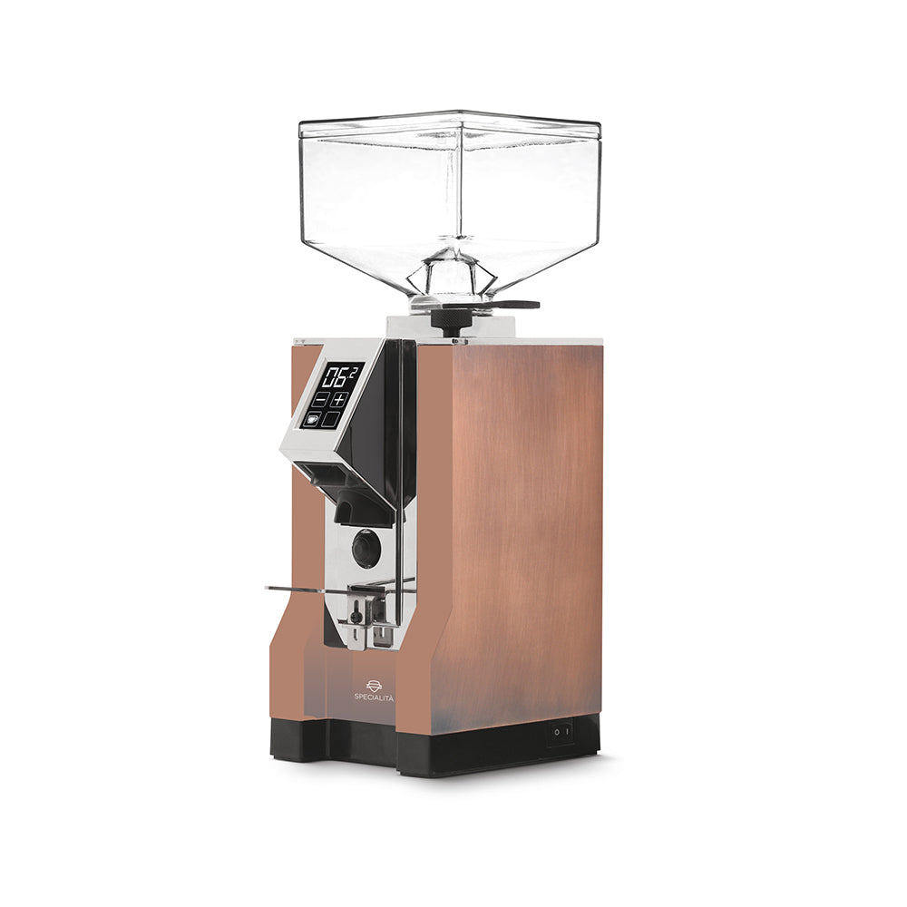Eureka Mignon Specialita Aged Copper Coffee Grinder (Chrome Panel)