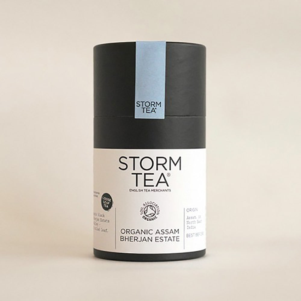 Storm - Bherjan Estate Organic Assam Tea - 100g Tin