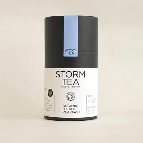Storm - Organic Estate Breakfast Tea - 100g Tin