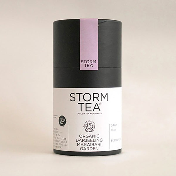Storm - Makaibari Organic Second Flush Darjeeling Tea - 100g Tin